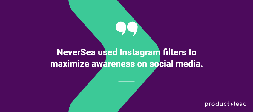 productlead quote on neversea instagram filters
